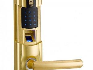 史康姆智能锁图片  YZ-6018