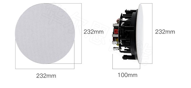 华尔思智能家居产品 TPZ-408智能高清HIFI发烧级音箱