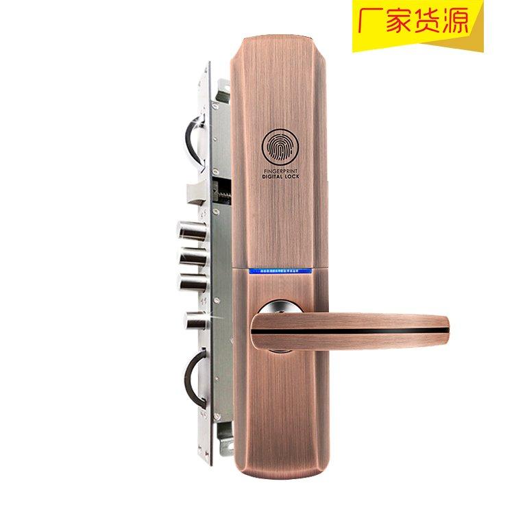 盈芯科智能锁产品 指纹密码防盗门锁FSC-616图片