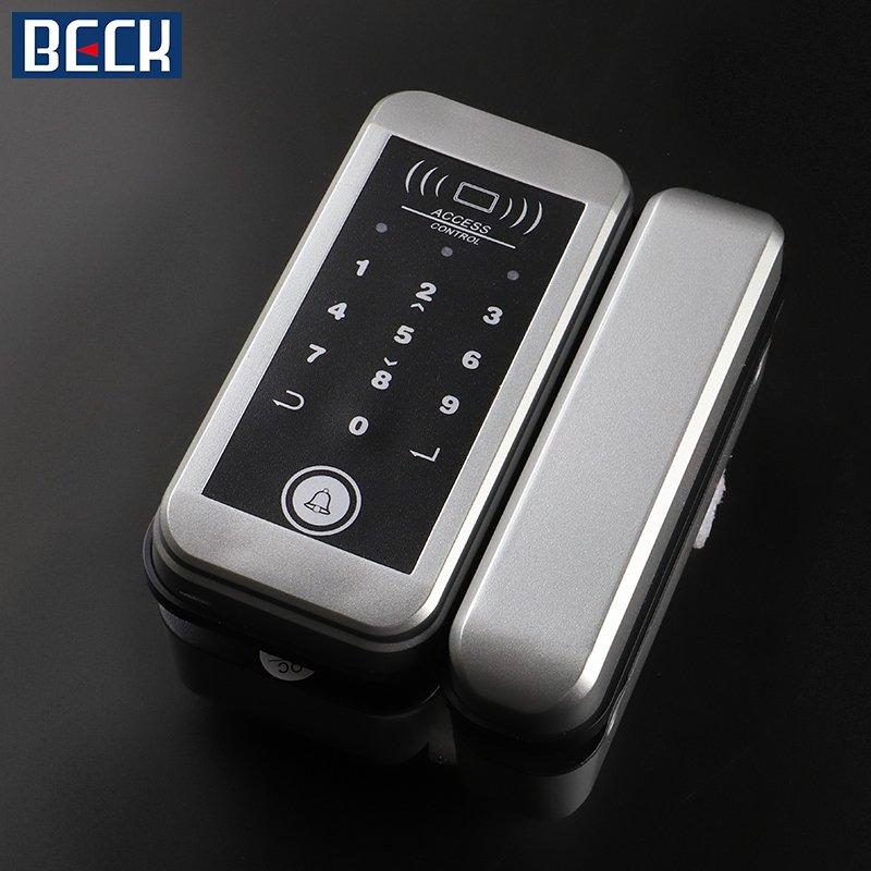 博克智能锁产品 无框磁卡刷卡锁M21图片