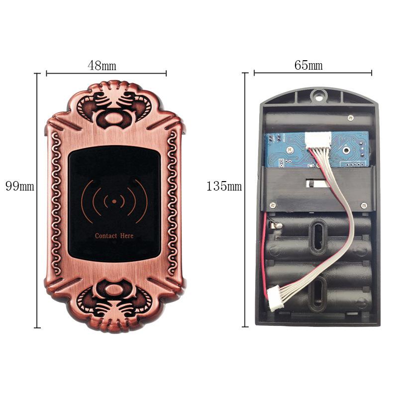 卡思特锁具 更衣柜感应锁211图片